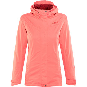 Maier Sports Metor 2L Packaway Jacket Women spiced coral